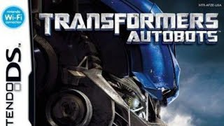 Transformers DS - Autobots movie Part 2 of 2