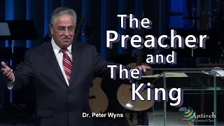 Dr. Peter Wyns live @ Antioch with The Preacher and The King.