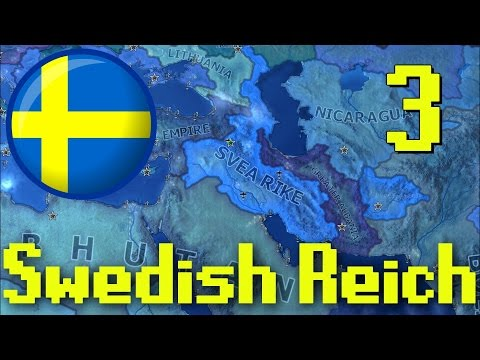 Hearts of Iron IV | Swedish Reich | Random Placement Mod | Part 3 | Fuck you Got Mine