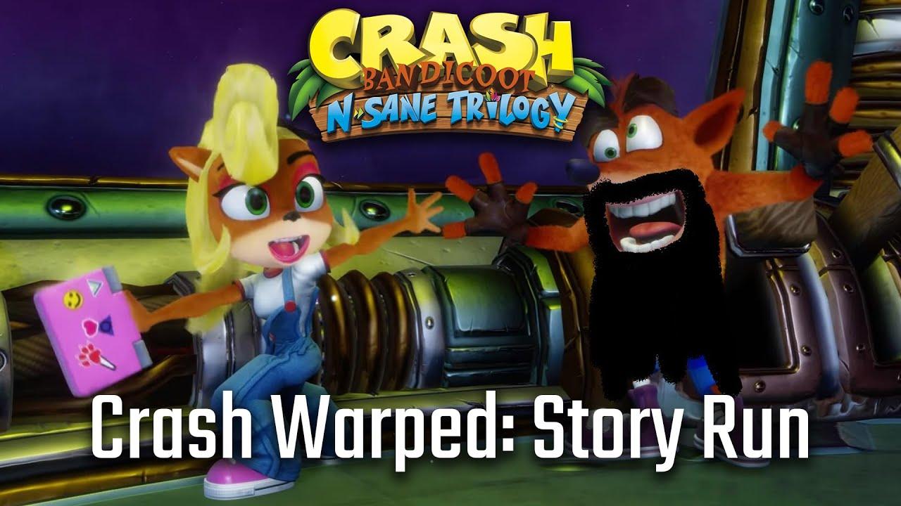 Aris Plays Crash Bandicoot: Warped - Full Story Mode Run