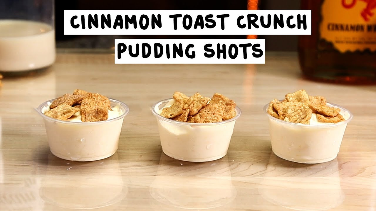 Cinnamon Toast Crunch Pudding Shots YouTube
