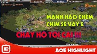 AOE HIGHLIGHT | Song tấu Chim sẻ - Mạnh Hào tạo nên trận đấu kinh điển.