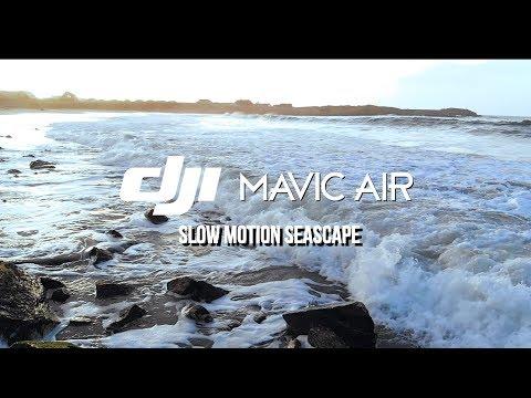 Dji Mavic Air // Slow Motion Seascape 120fps | Drone Video