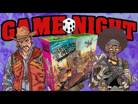 Game Night with Funagain Games  Wasteland Express Dery Service!