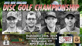 2018 New England Disc Golf Championship - Final Round