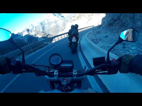Tamara Pass on Motorcycle Albania 2017 Part 2