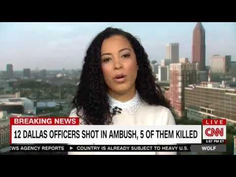 Angela Rye Discusses Dallas Police Attack w CNN's Wolf Blitzer