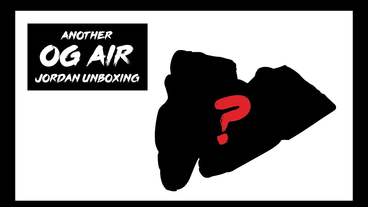 watch f6192 1f894 Another Steal OG Air Jordan Unboxing - Can You Guess What I Picked ...