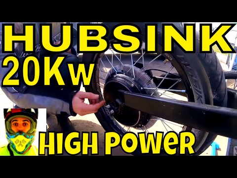 HubSink - Improved performance of electric bikes with better cooling!