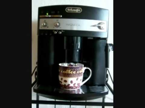 kaffee br hen delonghi esam magnifica 3000b youtube. Black Bedroom Furniture Sets. Home Design Ideas