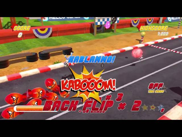 Joe Danger: Special Edition - Gameplay