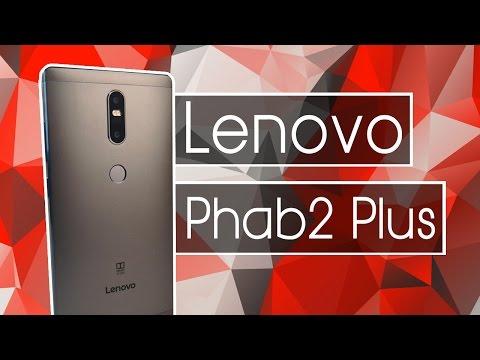 Smartphone con gran pantalla y doble cámara barato? Lenovo Phab2 Plus