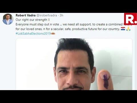 Massive Embarrassment For Congress: Robert Vadra Tweets Paraguay Flag Instead Of The Indian Flag