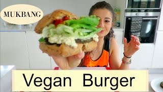 Веганский Бургер | Mukbang | Homemade Vegan Burger