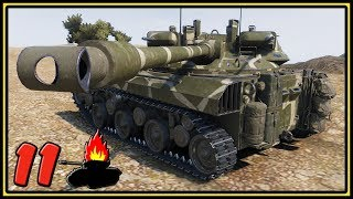 T92 - 11 Kills - World of Tanks Gameplay