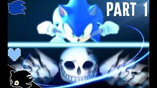 ARCHIE SONIC vs ULTRA SANS! (Undertale vs Sonic Animation) | AnimationRewind