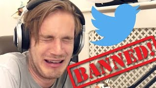 PewDiePie Gets Banned On Twitter After Joke About ISIS