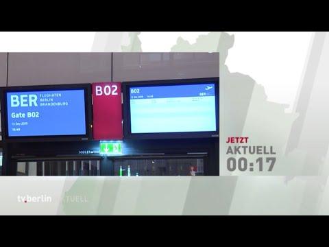 Tv.berlin Aktuell BER Flughafen-Spezial Vom 16.12.2019