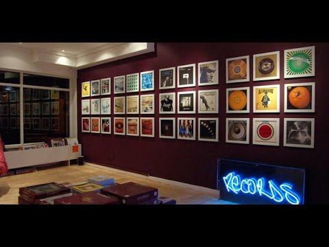 Schallplatten vinyl cover rahmen super deko idee test unboxing youtube - Gaming zimmer deko ...
