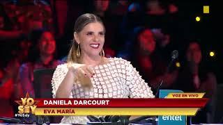 Imitadora de Daniela Darcourt canta Señor Mentira en Concierto de Yo Soy | 11 julio del 2019