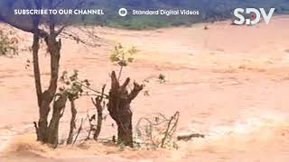 Signs of flooding begin to show across the country as rains commence