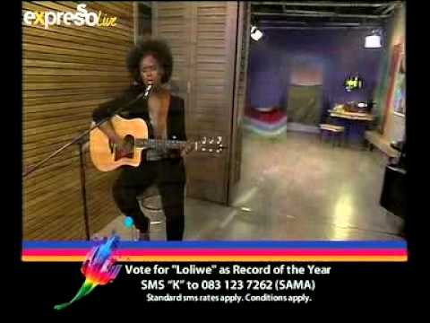 Zahara Performs 'Loliwe' Live On Expresso (18.04.2012)