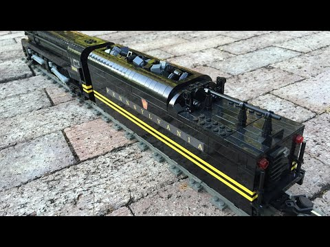 LEGO Pennsylvania Railroad T1 with Power Functions Tender V3