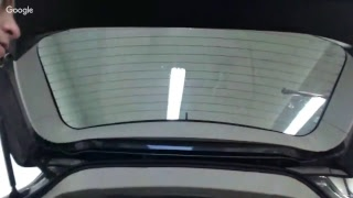How to Shrink a very curved back window preparing for a tint job!