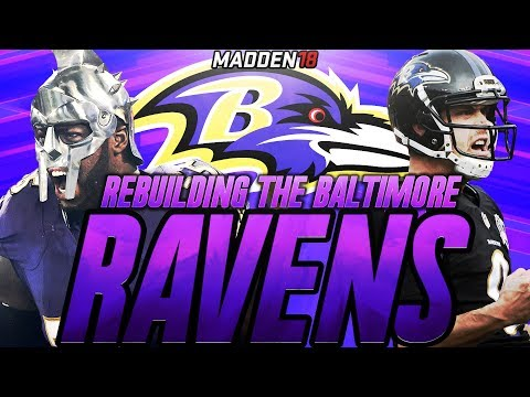 Madden 18 Connected Franchise | Rebuilding The Baltimore Ravens | MOST INSANE ROOKIES EVER!