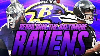 Madden 18 Connected Franchise | Rebuilding The Baltimore Ravens | MOST INSANE ROOKIES EVER! 2017 Video
