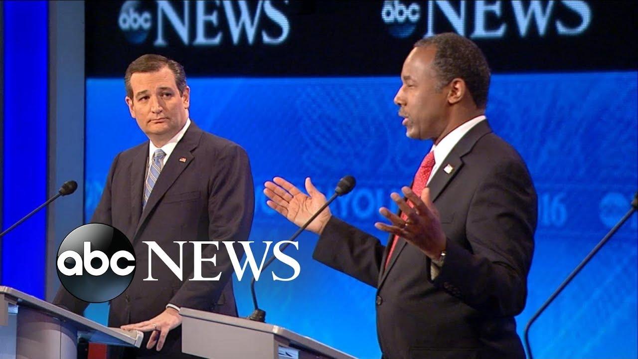 New Hampshire Republican Debate >> Ben Carson, Ted Cruz Respond to Iowa Voting Scandal [Republican Debate Highlights] - YouTube