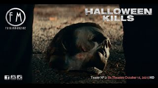 Halloween Kills - Teaser Nº 2 (In Theaters October 15, 2021) HD