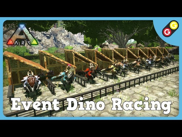 ARK : Survival Evolved - Event Dino Racing [FR]