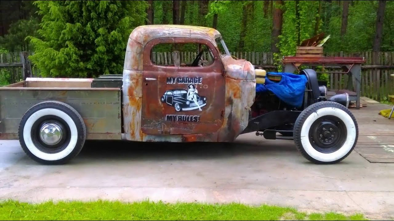 budowa auta ze z omu hot rod rat rod zi youtube. Black Bedroom Furniture Sets. Home Design Ideas