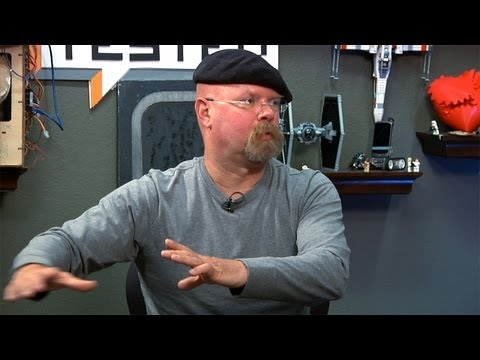 Jamie Hyneman's Thoughts on Designing and Making with CAD