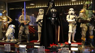 My Custom 1/6 Star Wars Shelf with new Hot Toys Storm Troopers
