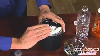 Tumbling and Polishing Jewelry and Stones with a Tumbler