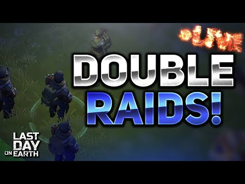 DOUBLE RAIDING STREAM! - Last Day on Earth: Survival — Craft & Zombie LIVESTREAM!