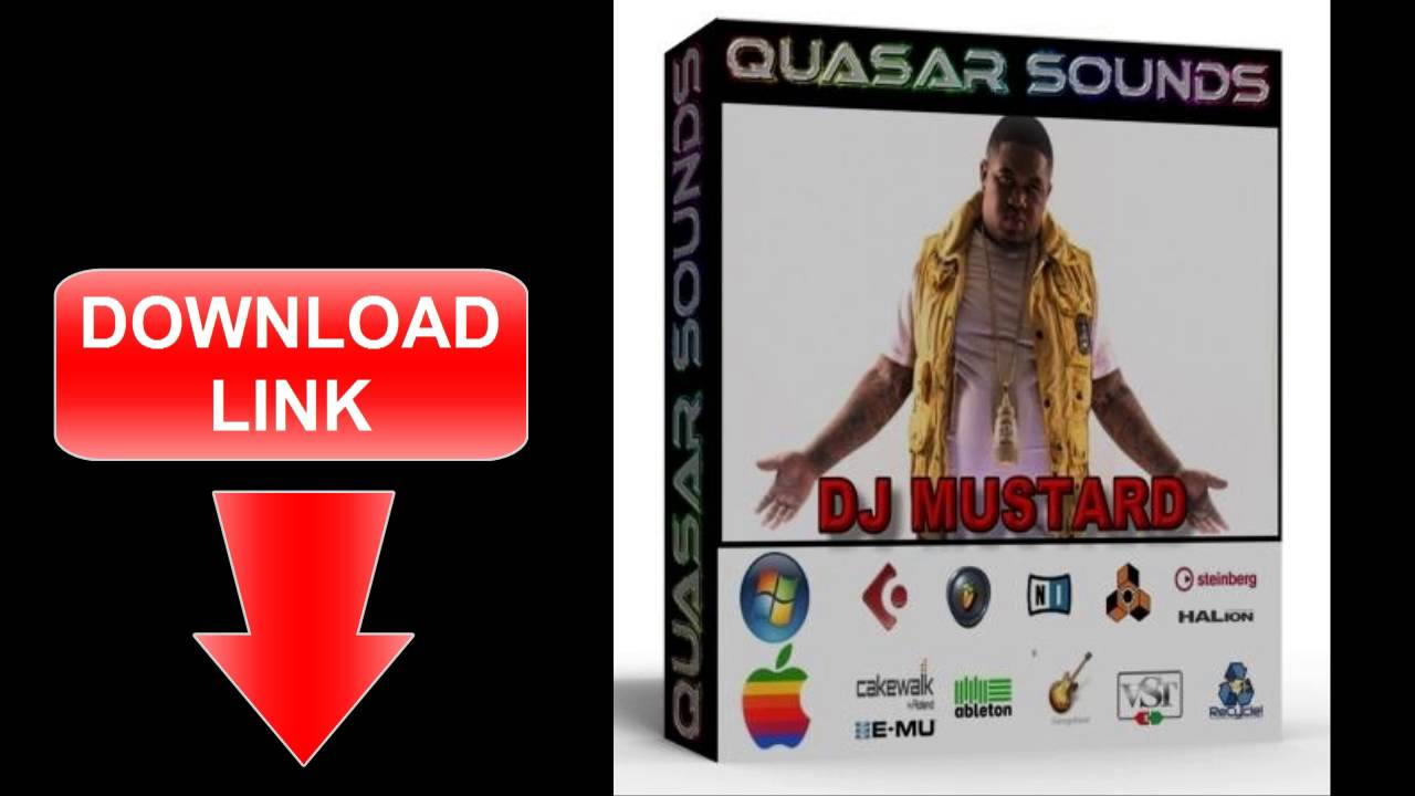 DJ MUSTARD DRUM KIT & SOUNDS Sample Kit DOWNLOAD