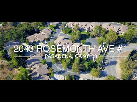 🏠Hysell Homes | 2043 Rosemont Ave #1 Pasadena 91103| For Sale $958,888