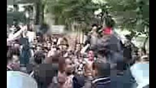 demonstration in cairo Dec 2007 مظاهره بتوع الضرايب العقاريه
