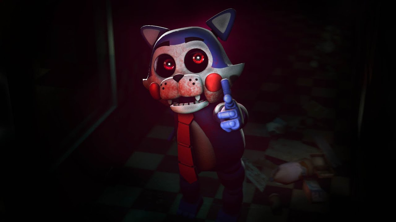 Five Nights At Candy's SFM FNAC Candy Model WorkshopTeaser ...