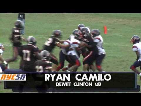 Rayan Camilo PSAL Football DeWitt Clinton HS
