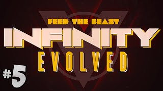 FTB Infinity Evolved - Ep.5 - The Hammer & IC2 Power!
