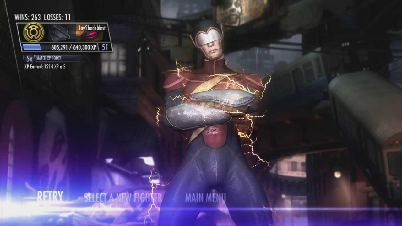earth 2 flash injustice - photo #17