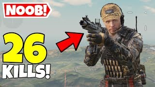 I PRETENDED TO BE A NOOB IN CALL OF DUTY MOBILE BATTLE ROYALE & THIS HAPPENED