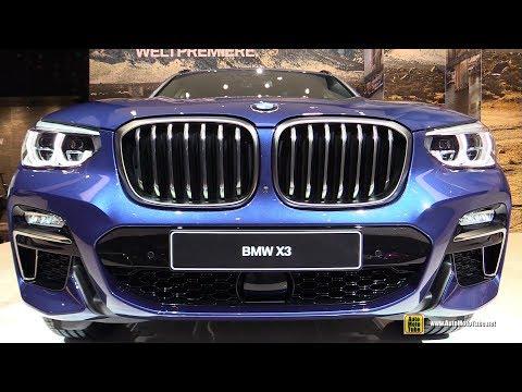 2018 BMW X3 M40i Review - Exterior and Interior Walkaround - Debut at 2017 Frankfurt Auto Show