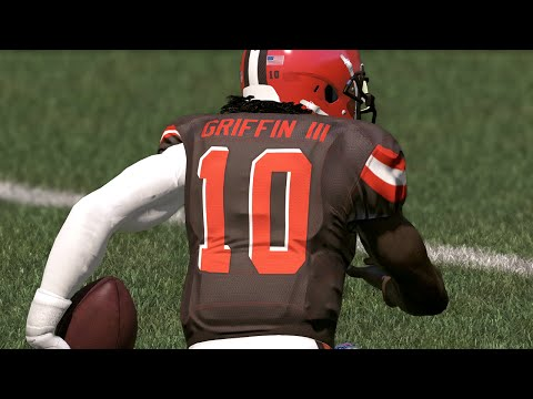 ROBERT GRIFFIN III COMEBACK PLAYER OF THE YEAR? 16-17 BROWNS PREVIEW! Madden 17 Online Gameplay