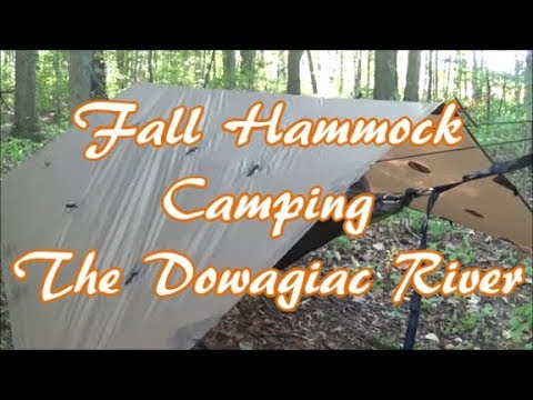 Fall Hammock Camping the Dowagiac River