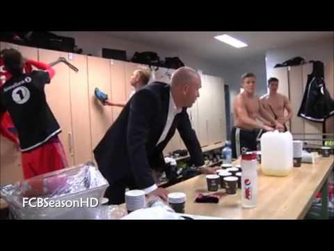 Rosenborg Ballklub - Jubel In Der Garderobe - HD